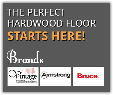 The perfect hardwood floor starts here